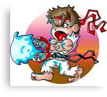Ryu Super Deformed Canvas Print
