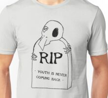 DEAD YOUTH Ⓡ / youth is never coming back ~ RAINBOW Ver. Unisex T-Shirt