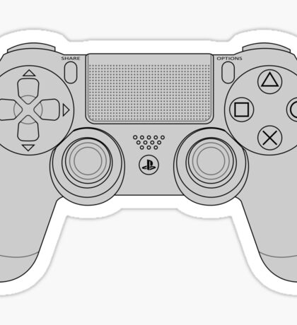 DualShock 4 Controller Sticker