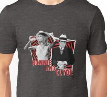 Bonnie and Clyde - Warren Beatty and Faye Dunaway Unisex T-Shirt