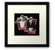 Bonnie and Clyde - Warren Beatty and Faye Dunaway Framed Print
