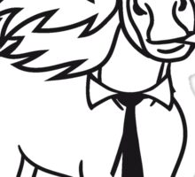 hat hat cigarette ties hermann cigar beautiful pony stallion riding white comic cartoon Sticker