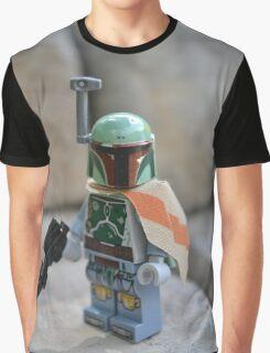 Lego Star Wars Boba Fett Graphic T-Shirt