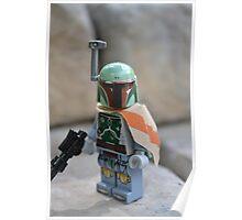 Lego Star Wars Boba Fett Poster