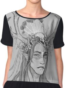 Lord of the Winds Chiffon Top