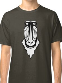 Mandrill Face Classic T-Shirt