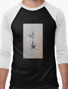 Rattle Bones Men's Baseball ¾ T-Shirt