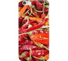 Sundried Chili Peppers iPhone Case/Skin