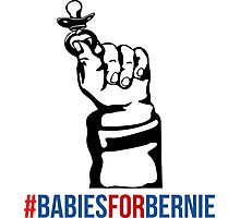 Babies for Bernie  Photographic Print