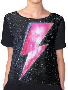 David Bowie - Ziggy Stardust Design  Chiffon Top