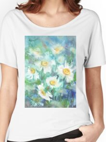 Daisies Women's Relaxed Fit T-Shirt