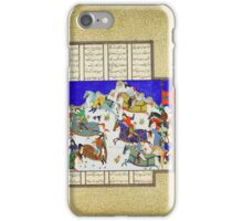The Coup against Usurper Shah iPhone Case/Skin