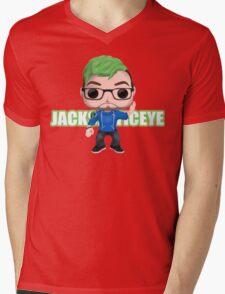 Jacksepticeye Pop! Vinyl Design (2nd Edition) Mens V-Neck T-Shirt
