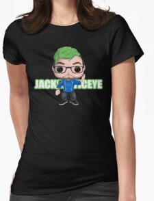Jacksepticeye Pop! Vinyl Design (2nd Edition) Womens Fitted T-Shirt