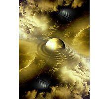yellow energy Photographic Print