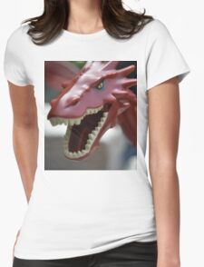 Lego the Hobbit Smaug Womens Fitted T-Shirt