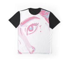 Popped-Pink Graphic T-Shirt