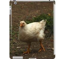 White Chicken on a Farm iPad Case/Skin