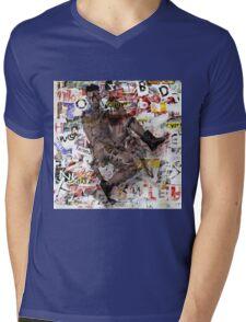 male figure Mens V-Neck T-Shirt
