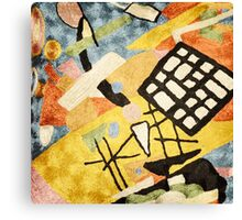 """Abstract-Contemporary """"Space Clutter""""  Canvas Print"""