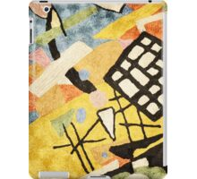 "Abstract-Contemporary ""Space Clutter""  iPad Case/Skin"