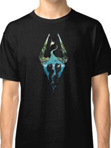 Skyrim Logo Classic T-Shirt