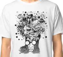 Bubbling Mind (Black) Classic T-Shirt