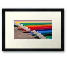 Colorful life 4 Framed Print