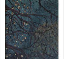 Apple tree (autumn prelude) Sticker