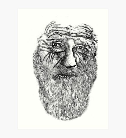 Old Man With Beard Art Print