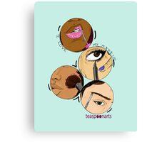 I love my Makeup Canvas Print