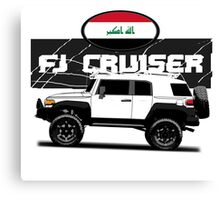 IRAQI FJ CRUISER NEW Canvas Print