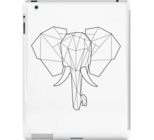 Wired Faceted Elephant iPad Case/Skin