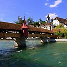 The covered bridge by annalisa bianchetti