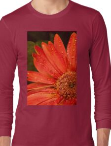 Blood Red Long Sleeve T-Shirt