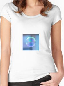 Bubble Women's Fitted Scoop T-Shirt