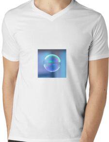 Bubble Mens V-Neck T-Shirt