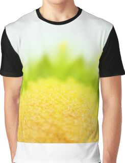 Green Solar Flares Graphic T-Shirt