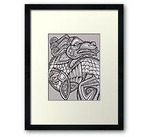Inkling Framed Print