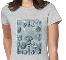 Thalamorphora in Blues Womens Fitted T-Shirt