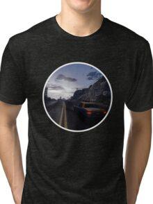 A Long Ride - GTA V Tri-blend T-Shirt