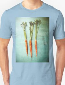Three Carrots Unisex T-Shirt