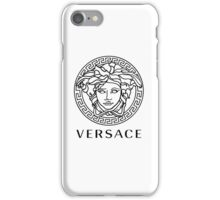 Versace Black Logo iPhone Case/Skin