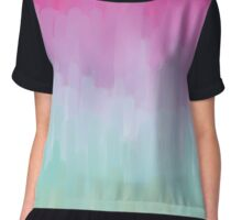 Colorful Brushstrokes Gradient Chiffon Top