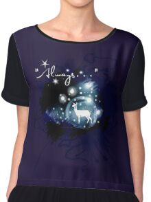 Always - a lovers most famous line Chiffon Top