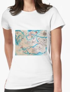 Going on an Adventure Womens Fitted T-Shirt