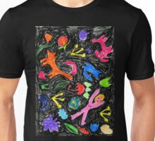 oil pastel pattern Unisex T-Shirt