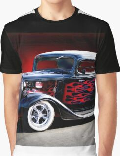 1933 Chevrolet Hot Rod Coupe Graphic T-Shirt