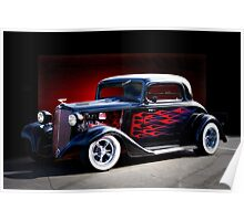 1933 Chevrolet Hot Rod Coupe Poster