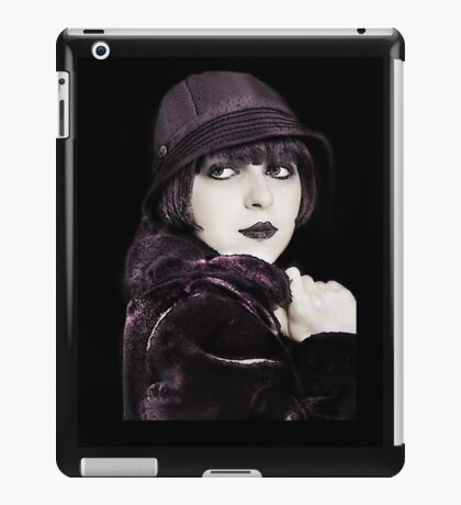 Louise in Fur Coat and Hat iPad Case/Skin